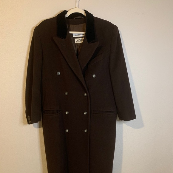 Saks Fifth Avenue-Wool/Cashmere Trench Coat
